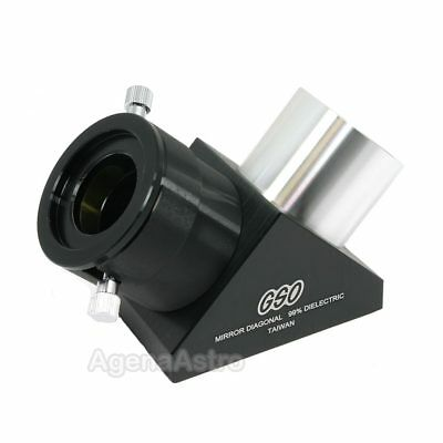 "GSO 2"" 90-deg 99% Dielectric Mirror Diagonal for Refractor Telescope"