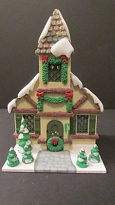 Dept.56 Hide A-Way Hollow Woodland Chapel 1986 Christmas