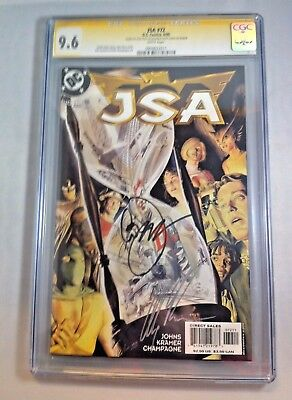 JSA # 72      CGC 9.6  Signed by ALEX ROSS and GEOFF JOHNS    2005