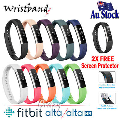 Premium Replacement Wristband Band Strap For Fitbit Alta HR Tracker Wrist band