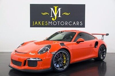 2016 Porsche 911 GT3 RS Coupe 2-Door 2016 PORSCHE 911 GT3 RS, PCCB's, FRONT LIFT, HIGHLY OPTIONED, 4K MILES, PRISTINE