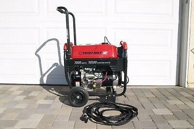 Troy-Bilt XP 7000 Generator. 10,500 starting watts. Low hours, Well maintained.