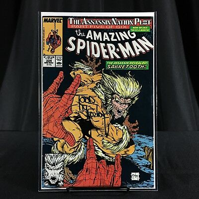 Amazing Spiderman 324 Signed Todd McFarlane