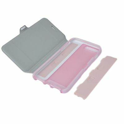 Genuine official Tech21 Evo wallet flip book case cover apple iphone 6s 4.7 pink