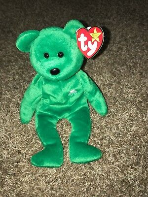 6ee18355d85 TY BEANIE BABY  Star  Retired Angel Bear Gold Star With Two Errors ...