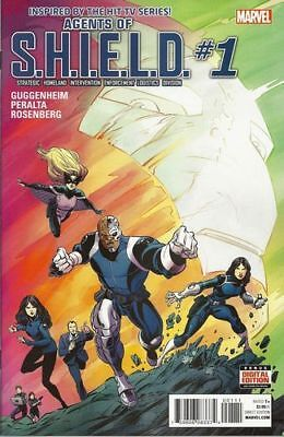 Marvel Comics Agents of SHIELD S.H.I.E.L.D. #1 2016 NM-M First Printing