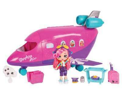 Shopkins Shoppies Skyanna's Jet Playset NEW Boxed and Ready to Ship!