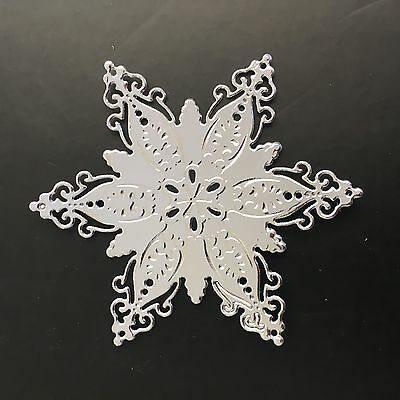Christmas Star/snow Die Cuts