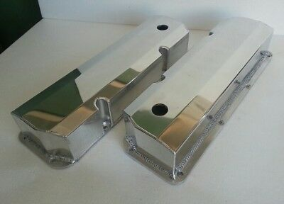 Ford Cleveland 302 351 V8 Sheet Alloy Fabricated Valve Rocker Covers