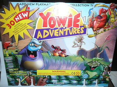 Yowie Yowies, *2000, CADBURY'S YOWIES * SERIES 6 POINT OF SALE * BACKING BOARD