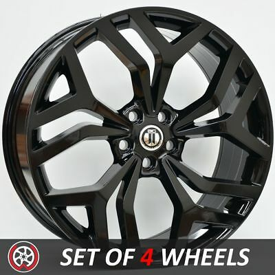 20 Inch SIGNATURE Wheels Rims for Land Rover Discovery 3 4 5 Black