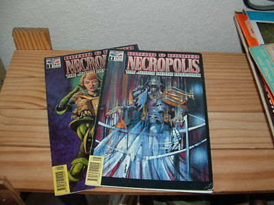 Dredd And Buried Necropolis Fleetway The Judge Death Invasion 2 Issues