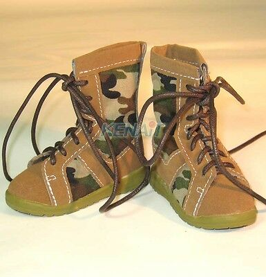 Super Dollfie Military Shoes for 1/3 Doll, SD, SD13, DD
