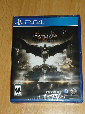 Batman Arkham Knight PS4, New (Sony PlayStation 4, 2015)