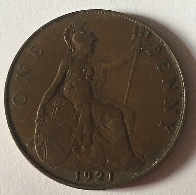 ANTIQUE GEORGE V LUCKY OLD PENNY COIN! - VARIOUS DATES 1911-1936 -  great gift!