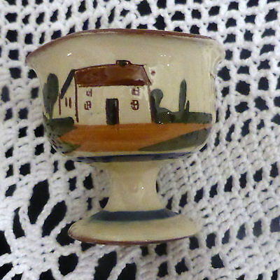 TORQUAY WARE SUGAR BOWL -  - 'Take A Little  Sugar '  7cm tall