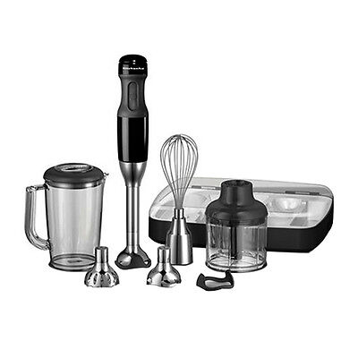 NEW KitchenAid Artisan Deluxe Stick Blender Onyx Black (RRP $269)