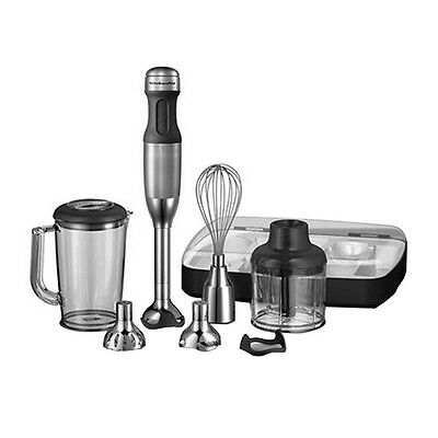 NEW KitchenAid Artisan Deluxe Stick Blender Stainless Steel (RRP $269)