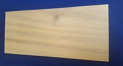 1 × Solid African Walnut wood Sheets 4mm or 6mm