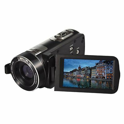 ORDRO FHD 1080P 30fps Digital Video Camcorder with Remote Control HDMI