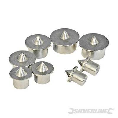 Silverline Dowel Centre Point Set 8pce 6 – 12mm 733252