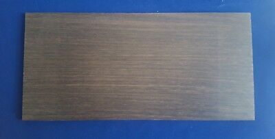 1 × Solid Wenge Wood Sheets 3mm, 4mm or 6mm