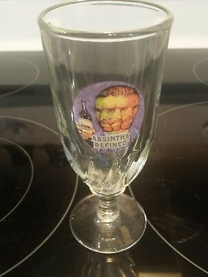 Absinthe Refined 3 Faced Man Glass