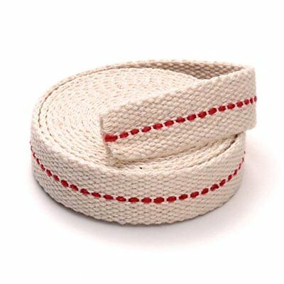 """Light Of Mine 3/4"""" Inch 100% Cotton Flat Wick 6 Foot Roll for Paraffin Oil"""