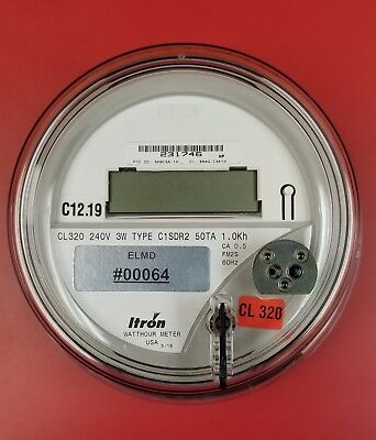 Itron Centron C1Sdr2 240 Volts Electric Meter Fm2S 320Amps Kwh Watthour C1S