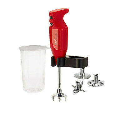NEW Bamix Mono Blender 140W Red (RRP $339)