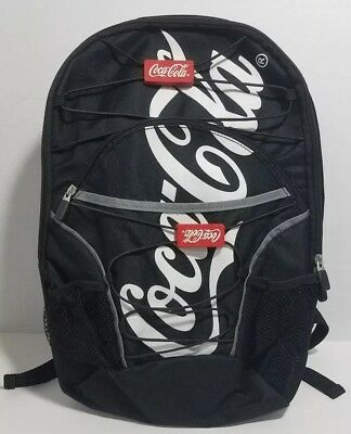 "Collectible 15"" Coca-cola Backpack Multifunctional Bag Laptop Bag Carrier Black"