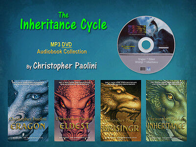 The Complete INHERITANCE CYCLE Series By Christopher Paolini (4 MP3 Audiobooks)