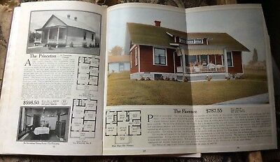 1916 Original Aladdin Homes Catalog North American Construction Co. Bay City, MI
