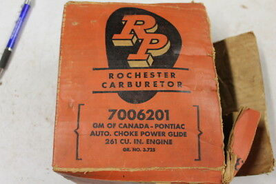 brand new Rochester  261 engine  Pontiac Carburetor with box 1955 1956