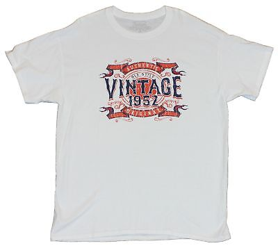 Authentic Vintage III Mens T-Shirt  - Old Style 60th Anniversary Image