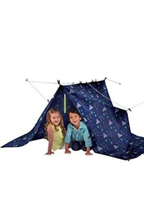 NEW Discovery Kids Build and Play 19-pc. Fort Set Indoor Play Tent Child  sc 1 st  PicClick & PILLOW FORT Set Construction Discovery Kids Build Play Tent ...