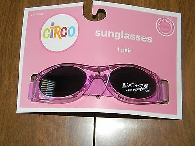 Circo Baby Toddlers Purple Freesia UV Protection Impact Resistant Sunglasses NEW