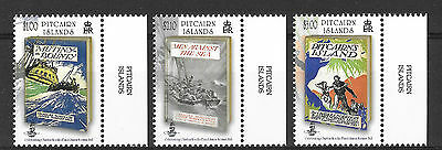Pitcairn Islands 2013 Nordhoff & Hall The Bounty Trilogy MNH