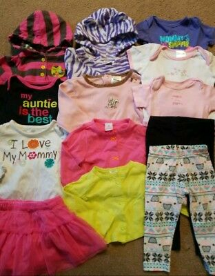 Baby Girl Clothes Lot Size 9 Months