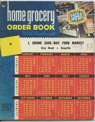 1962 Home Grocery Order Book Full Of Fabulous Packaging Adverts Tips Etc X22