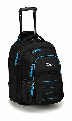 High Sierra Ultimate Access 2.0 Carry On Wheeled Backpack With Removable Daypack