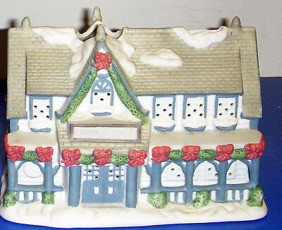 Partylite Tealight Candle Shop PO266 Retired Christmas Village