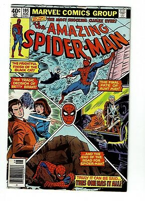 Amazing Spider-man #195 FN/VF 7.0, 2nd Black Cat