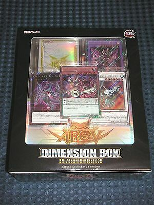 NEW YuGiOh! ARC-V OCG 2016 DIMENSION BOX LIMITED EDITION 20th Anniv. JAPAN F/S