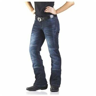 Draggin Jeans Womens Drayko Drift Jeans Dark blue-Size US12
