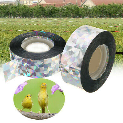 Bird Scare Tape Audible Repellent Pigeons Fox Repeller Ribbon Deterrent Tapes