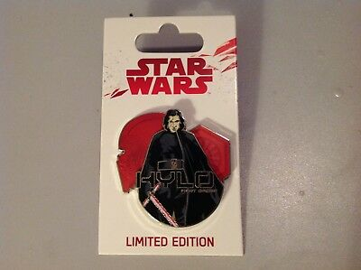 Disney Star Wars Limited Edition First Order Kylo Ren Pin Brand New Rare