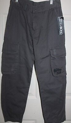 NEW with Tags BILLABONG boys Khaki 'Aftershock' cargo PANTS size 10 RRP $79