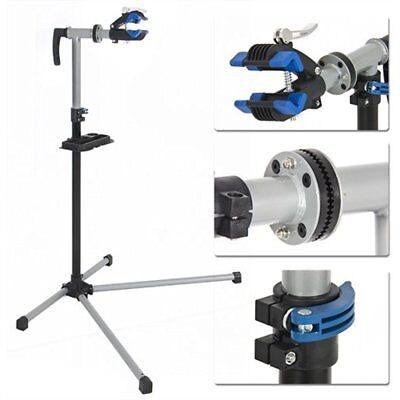 Pro Bike Adjustable Repair Stand With Telescopic Arm Cycle Bicycle Rack