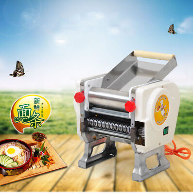 220V Household Stainless Steel Electric Pasta Press Maker Noodle Machine